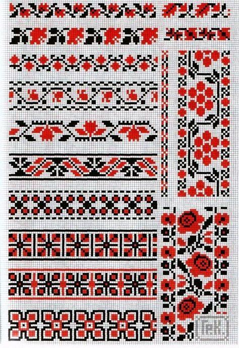 Украинский крест вышивка