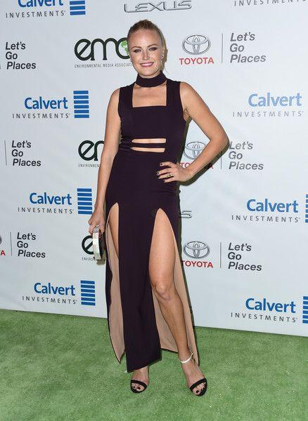 Malin Akerman attends the 26th annual EMA Awards at Warner Bros studio lot in Burbank.