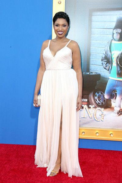 Actress/singer Jennifer Hudson attends the premiere of Universal Pictures' 'Sing.'