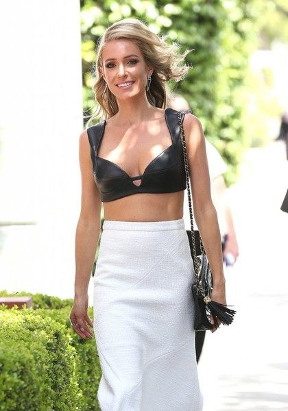 Reality TV star Kristin Cavallari is spotted out and about in Los Angeles.