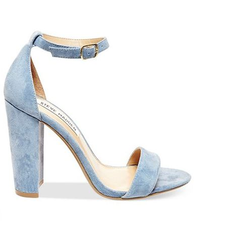 Blue Suede Shoes - Something Blue Wedding Shoes - Photos