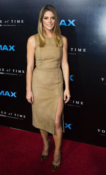 """Actress Ashley Greene arrives for the premiere of """"Voyage of Time: The IMAX Experience,"""" at the California Science Center September 28, 2016 in Los Angeles, California. / AFP / Robyn Beck"""