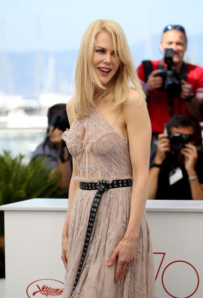 Actress Nicole Kidman attends 'The Beguiled' photocall during the 70th annual Cannes Film Festival.