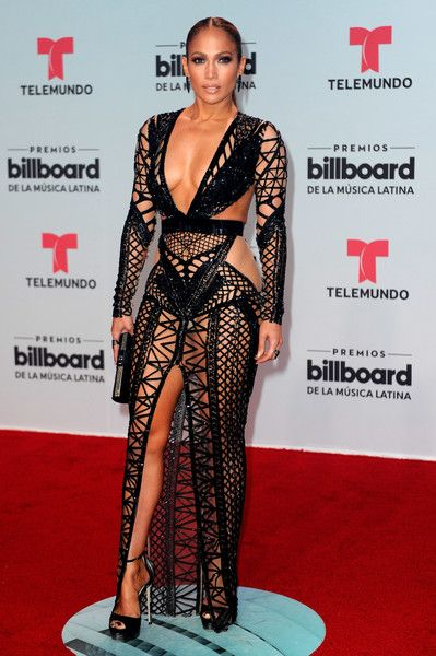 Jennifer Lopez attends the Billboard Latin Music Awards.