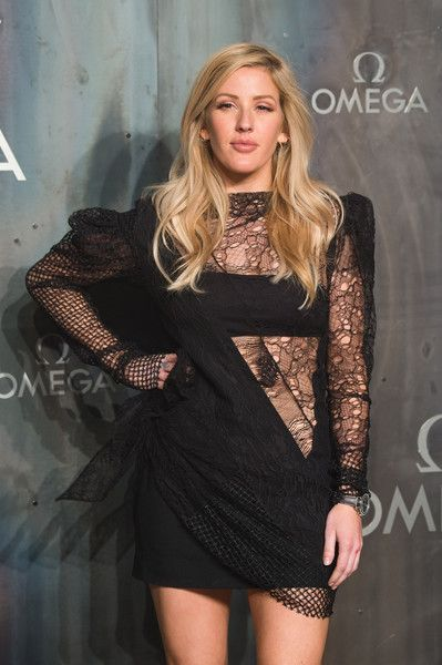 Ellie Goulding attends the Lost in Space event to celebrate the 60th anniversary of the OMEGA Speedmaster, which has been worn by every piloted NASA mission since 1965.