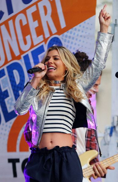 Kimberly Perry and The Band Perry perform as Team USA visits NBC's TODAY Show during their Road to Rio Tour presented by Liberty Mutual on April 27, 2016 in New York City. The event marks 100 days until the Opening Ceremony of the Rio 2016 Olympic Games.