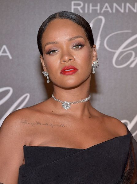 Rihanna attends the Chopard Dinner in honour of the Rihanna X Chopard Collection during the 70th annual Cannes Film Festival.