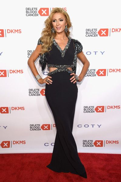 Paris Hilton attends the 10th Annual Delete Blood Cancer DKMS Gala at Cipriani Wall Street.