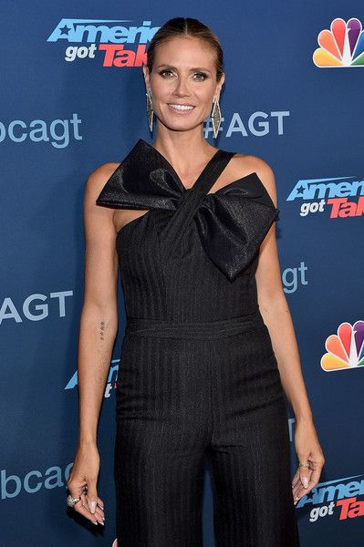 TV Personality Heidi Klum attends the 'America's Got Talent' Season 11 Live Show at Dolby Theatre.