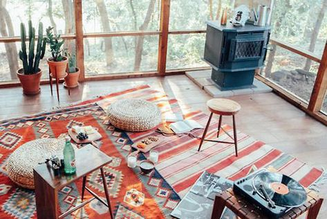 Layered Rugs - The Best Fall Design Trends-According To Pinterest - Photos