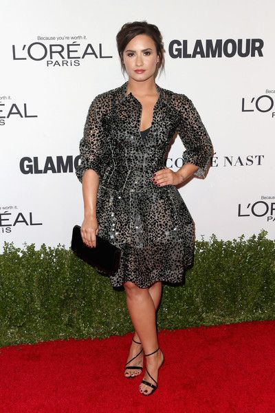Demi Lovato in Scattered Dots - Every Gorgeous Look at Glamour's 2016 Women of the Year Awards - Photos