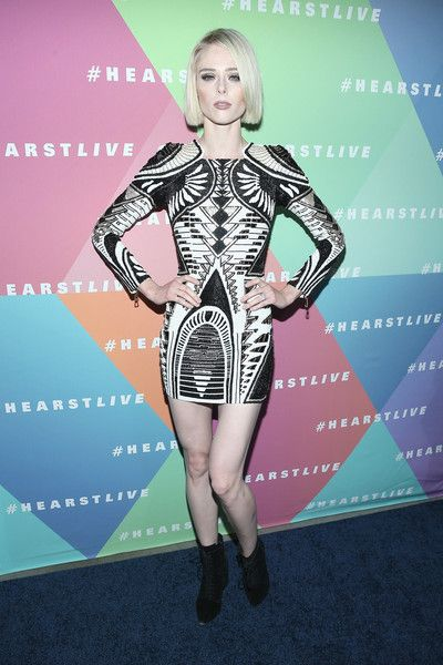 Coco Rocha attends the Hearst launch of HearstLive, a multimedia news installation, at 57th Street & 8th Avenue on September 27, 2016 in New York City.