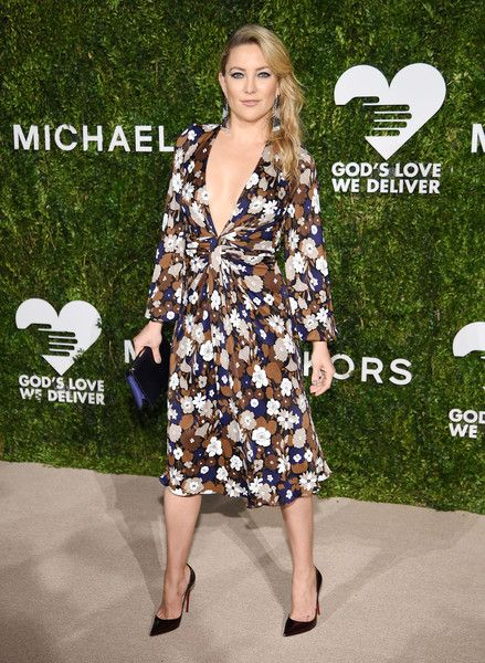 Kate Hudson attends the God's Love We Deliver Golden Heart Awards in NYC.