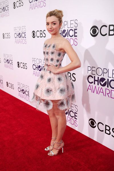 Actress Peyton List attends the People's Choice Awards 2017.