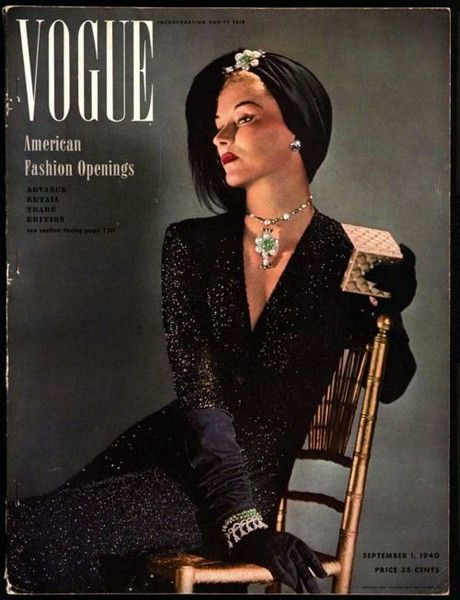 1940, Vogue - Fabulous Magazine Covers From the Year You Were Born - Photos