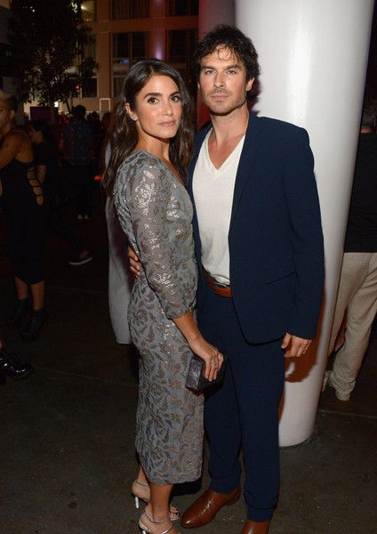 Nikki Reed and Ian Somerhalder attend Entertainment Weekly's Comic-Con Bash.