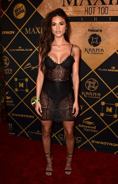 Sophia Miacova - All the Looks from the 2016 Maxim Hot 100 Party - Photos