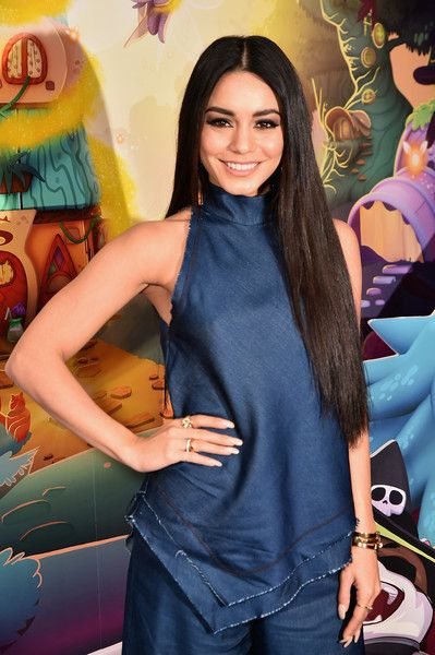 Vanessa Hudgens launches Bubble Witch 3 in New York City.