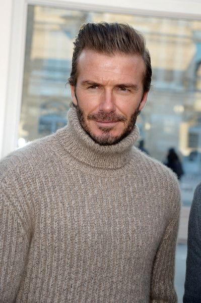David Beckham attends the Louis Vuitton Menswear Fall/Winter 2017-2018 show.