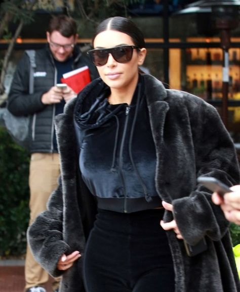 TV personalities Kim and Kardashian were spotted filming with Kourtney's daughter Penelope Disick at Sloan's Homemade Ice Cream and a candy shop at the Westfield Topanga in Canoga Park, California on February 27, 2017. The celeb sisters enjoyed some delicious Macaroons at the ice cream bar before playing with the toys at the candy store.