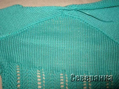 Вязание рукава на вязальной машине 29