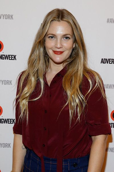 Drew Barrymore after participating in the Building a Brand in a Mobile-First World panel on the Times Center Stage during 2016 Advertising Week New York on September 27, 2016 in New York City.