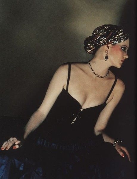 Shimmering Turban - Real '70s Glamour - Photos
