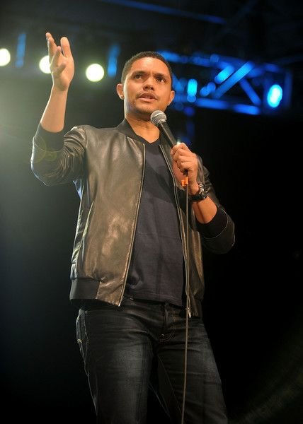 Comedian Trevor Noah attends The Daily Show with Trevor Noah Stand-Up in the Park in Central Park on June 26, 2016 in New York City.