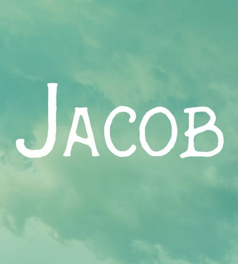 Jacob - Baby Names That Parents Wish They Hadn't Used - Photos