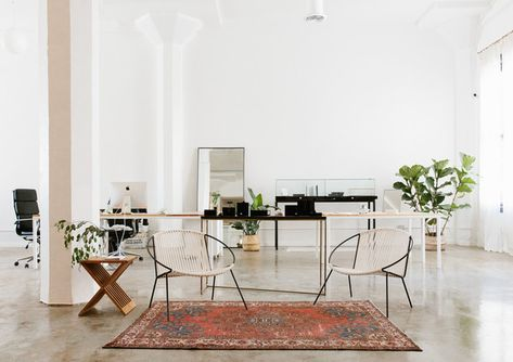 Hoop Dreams - Vrai & Oro's Los Angeles Office Is A Minimalist's Dream - Photos