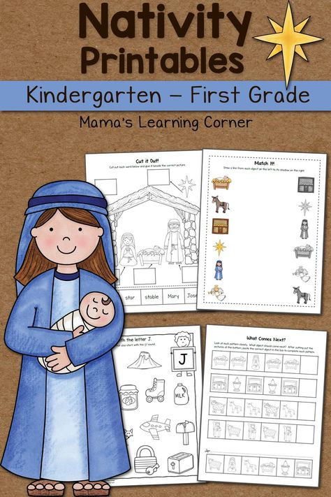 Christmas reading worksheets for first grade