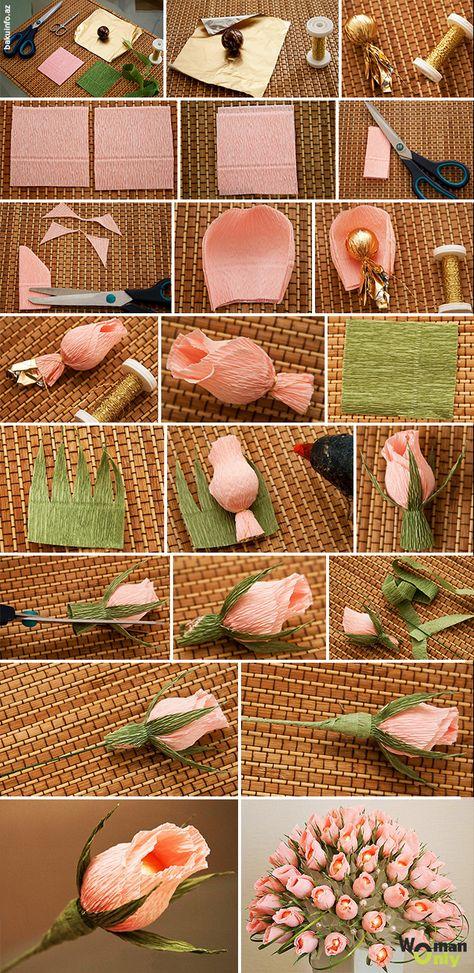 Как сделать из конфет своими руками пошаговое фото