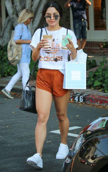 Vanessa Hudgens departs from lunch in LA.