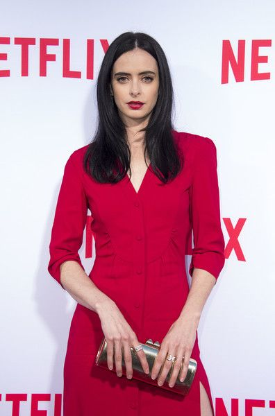 Actress Krysten Ritter attends the Netflix's Marvel's Jessica Jones Screening and Q&A at  Paramount Studios, in Los Angeles, California, on May 3, 2016. / AFP / VALERIE MACON