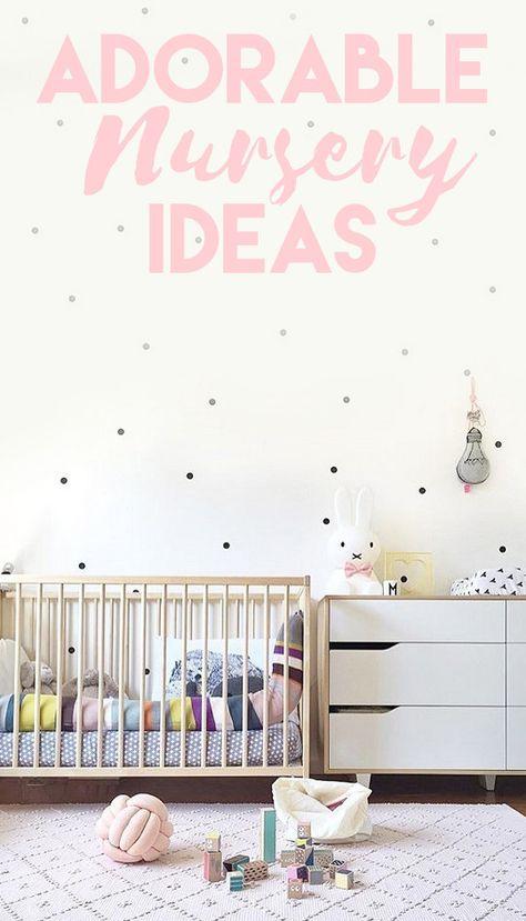 Adorable Nursery Ideas from Instagram