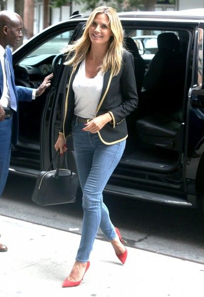 Heidi Klum is spotted out in New York City.