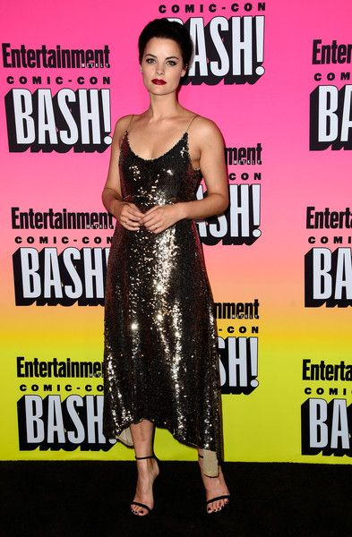 Jaimie Alexander attends Entertainment Weekly's Comic-Con Bash.