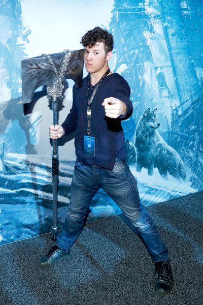 Actor Nolan Gould gets a sneak preview of Destiny's new in-game event The Dawning at PlayStation Experience.
