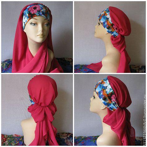 Как сшить головной платок 181