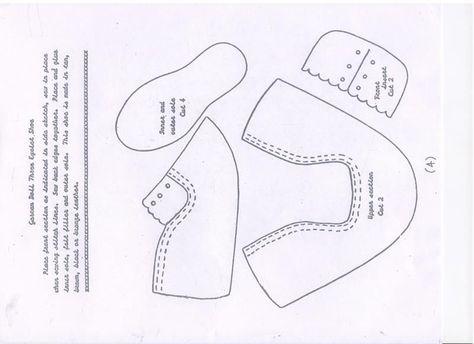 Обувь для куклы большеножки своими руками 706