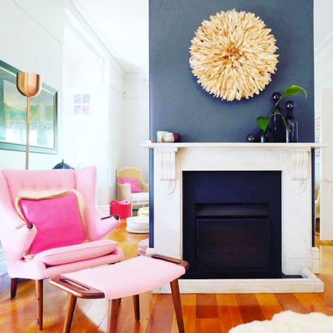 Tri-Tone Pink - 15 Rooms That Make The Case For Decorating With Pink - Photos