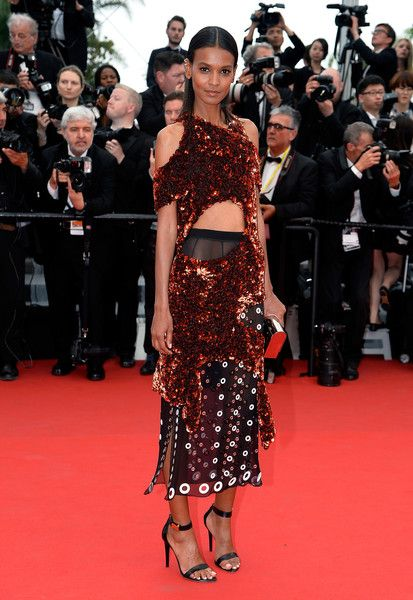 Liya Kebede in Proenza Schouler, 2015 - The Most Daring Dresses on the Cannes Red Carpet - Photos