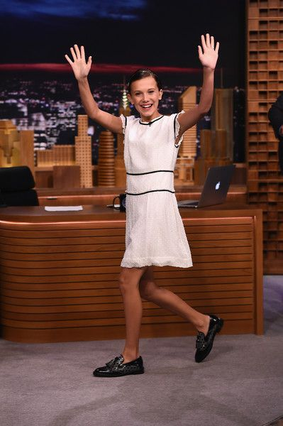 Millie Bobby Brown visits 'The Tonight Show Starring Jimmy Fallon.'