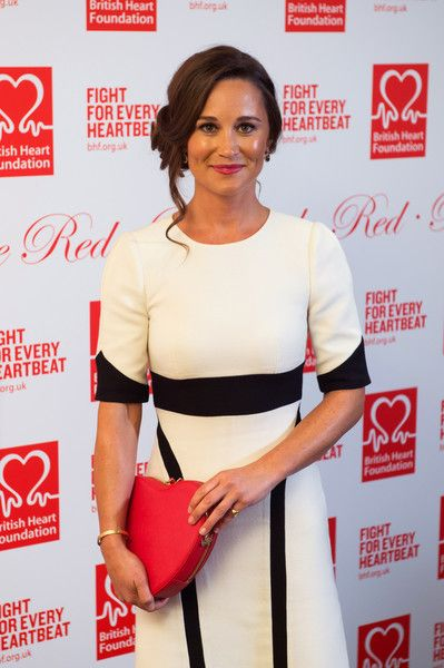 Pippa Middleton attends the British Heart Foundation's Roll Out the Red Ball.