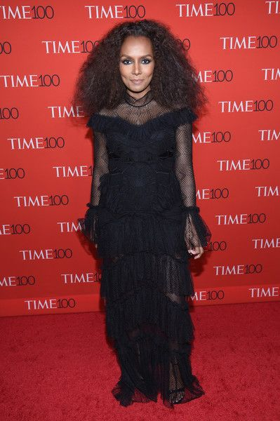 Author Janet Mock attends the 2017 Time 100 Gala.