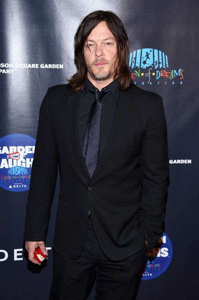 Actor Norman Reedus attends the 2017 Garden of Laughs Comedy Benefit at The Theater at Madison Square Garden.