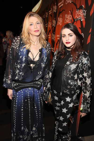 Musician Courtney Love and daughter artist Frances Bean Cobain attend Hilarity for Charity's 5th Annual Los Angeles Variety Show: Seth Rogen's Halloween.