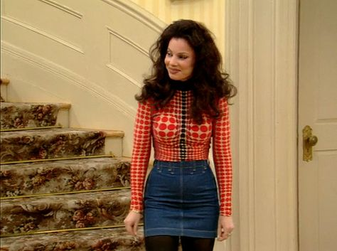 Denim Minis Will Always Be In Our Vocabulary - Style Lessons We Learned From 'The Nanny' - Photos