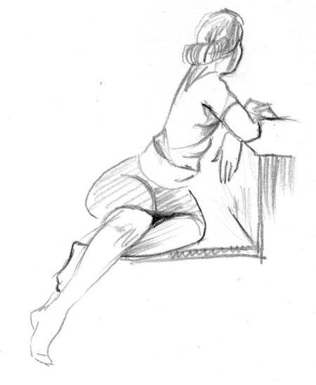 Рисунок натуры карандашом для начинающего