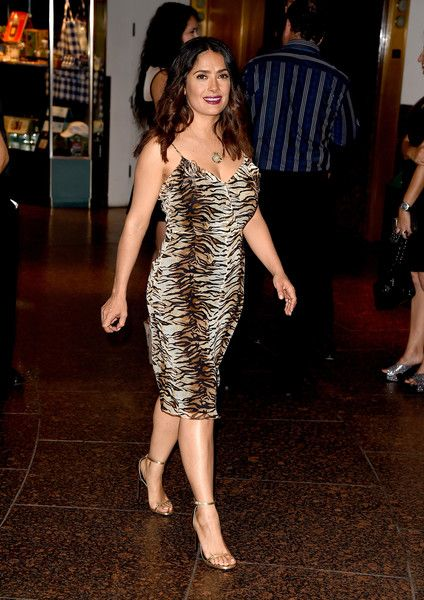 """Executive producer/actress Salma Hayek arrives at the premiere of Momentum Pictures' """"September Of Shiraz"""" at the Museum of Tolerance on June 21, 2016 in Los Angeles, California."""
